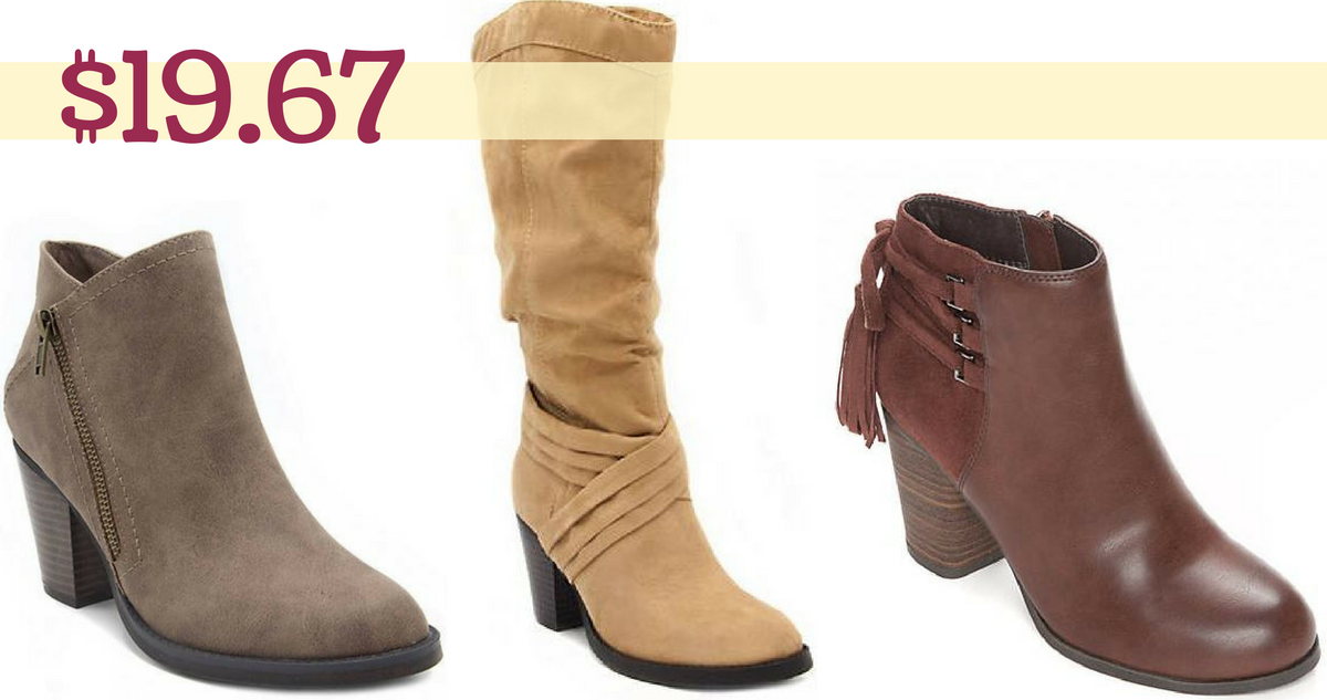 Belk Womens Boots Starting At 1967 Each Southern Savers