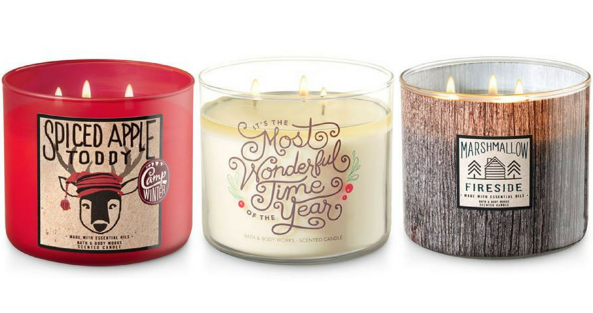 Bed Bath & Beyond Coupon Code | 3-Wick Candles, $10 Shipped ...