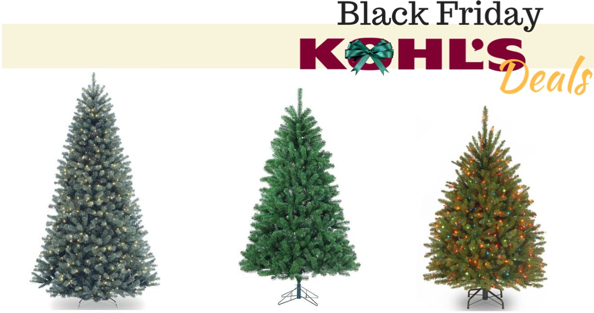 Artificial Christmas Tree Deals From Kohl's :: Southern Savers