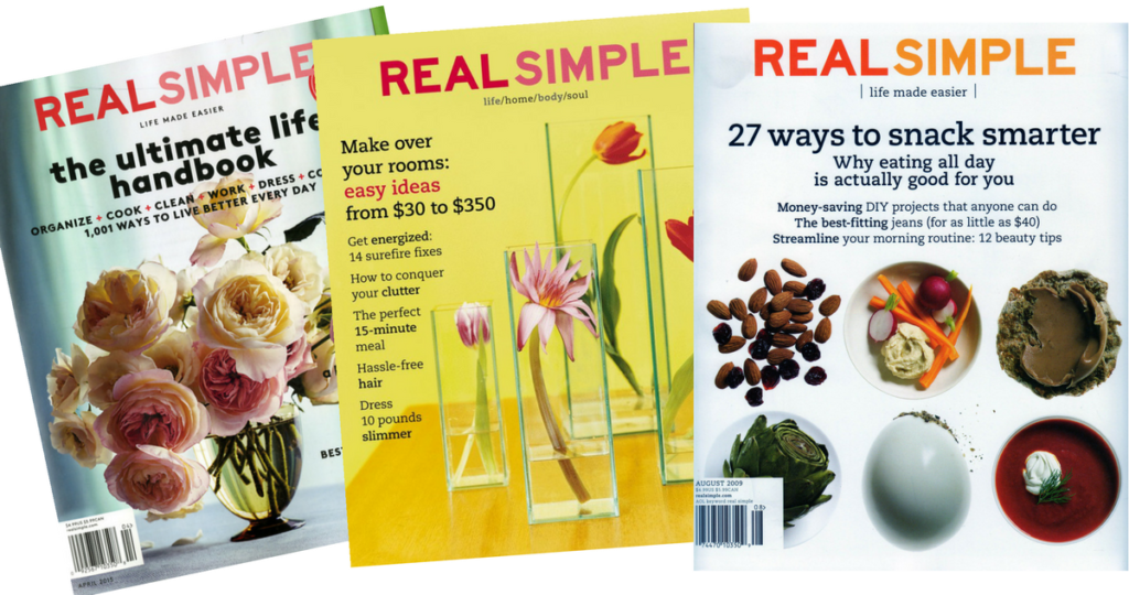 1 Year Real Simple Magazine Subscription For 1095