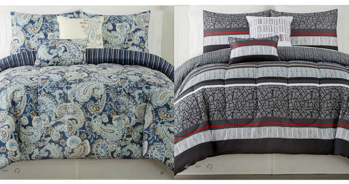 Jcpenny Comforter Sets For 25 Reg 150 Southern Savers