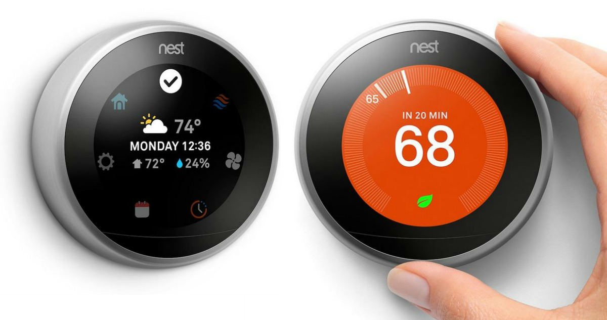 Nest Learning Thermostat For 199 Reg 249 99