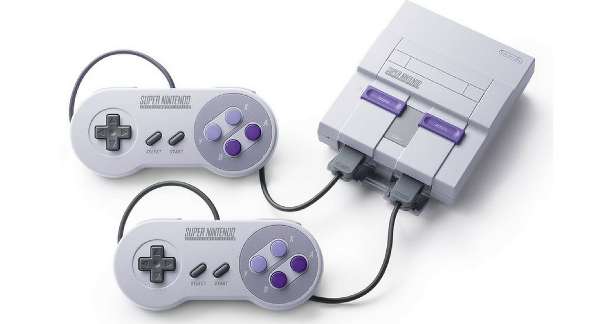 Super nintendo classic edition for shipped southern savers - Super nintendo classic game console ...