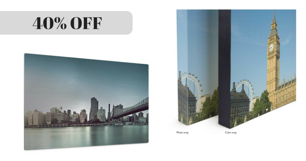 40 off photo canvases and aluminum prints free shipping