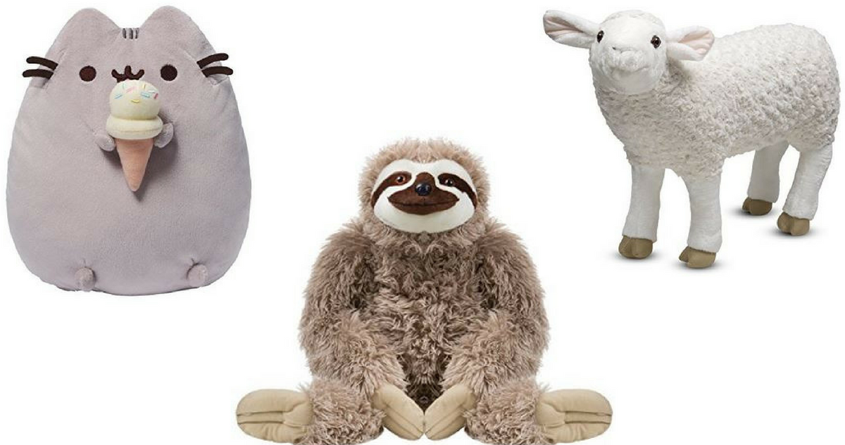 Amazon Toy Deal Up To 59 Off Stuffed Animals