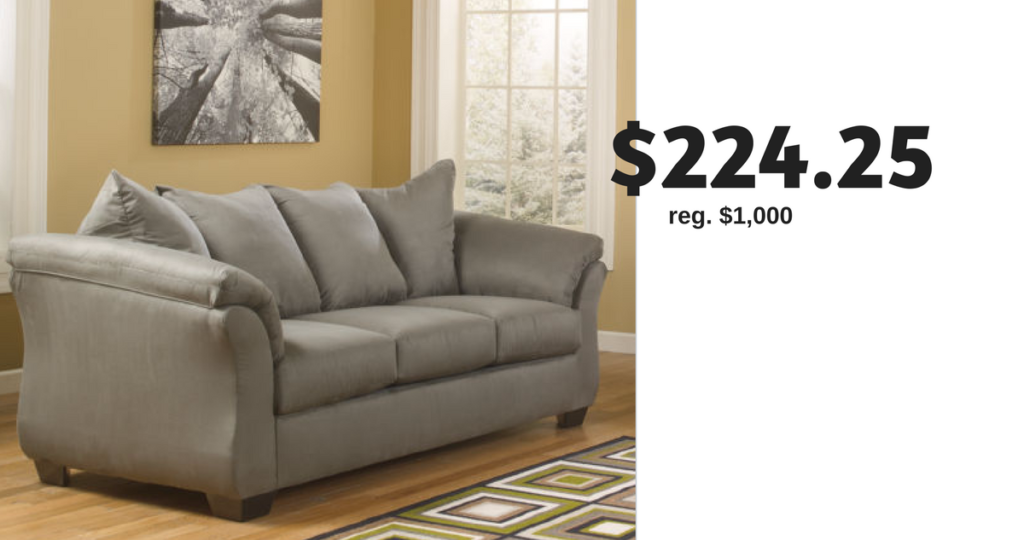 Score Major Savings On This Ashley Sofa At Jcpenney Right Now The Signature Design By Madeline Fabric Pad Arm Is For 224 25 Regularly