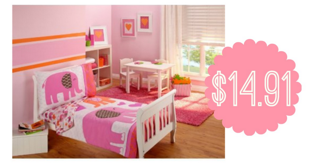 4-Piece Toddler Bedding Set, $14.91 Shipped :: Southern Savers