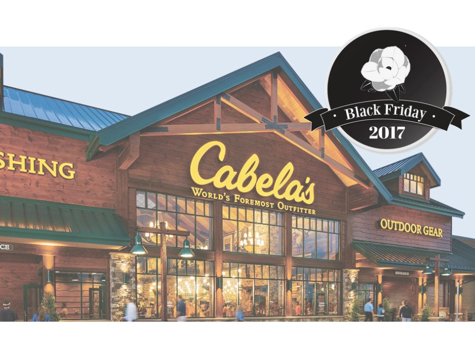 Cabela's is a specialty retail store that carries outdoor sports & camping gears. Cabelas is one the store that will remain close on Thanksgiving. Please scroll down to see Black Friday deals of Cabelas.