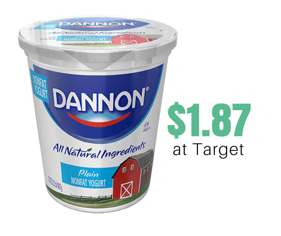 Bi Lo Stores >> Dannon Yogurt Quart, $1.87 at Target :: Southern Savers