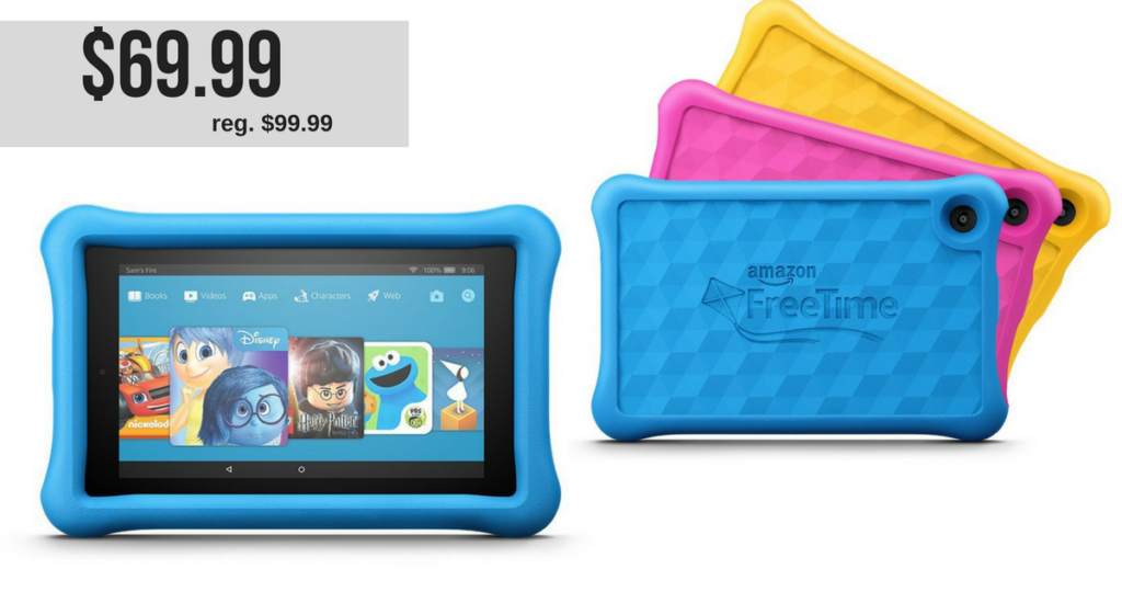 Today Only: Amazon Fire 7 Kids Edition Tablet, $69 99 (reg