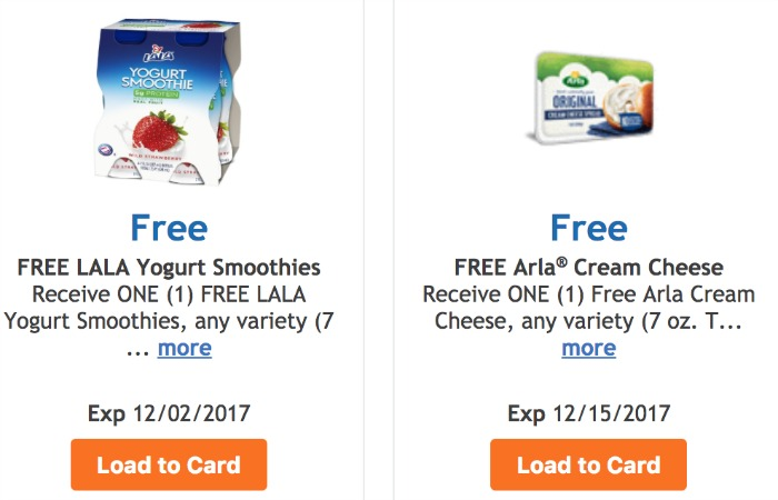 Arla free coupon