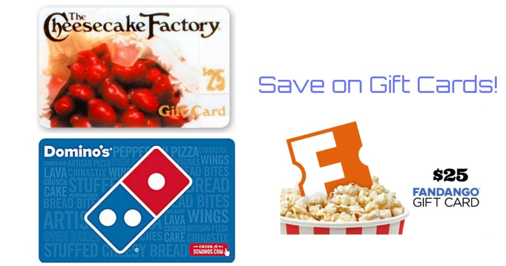 Gift Card Deals: Fandango, iTunes, Domino's + More :: Southern Savers