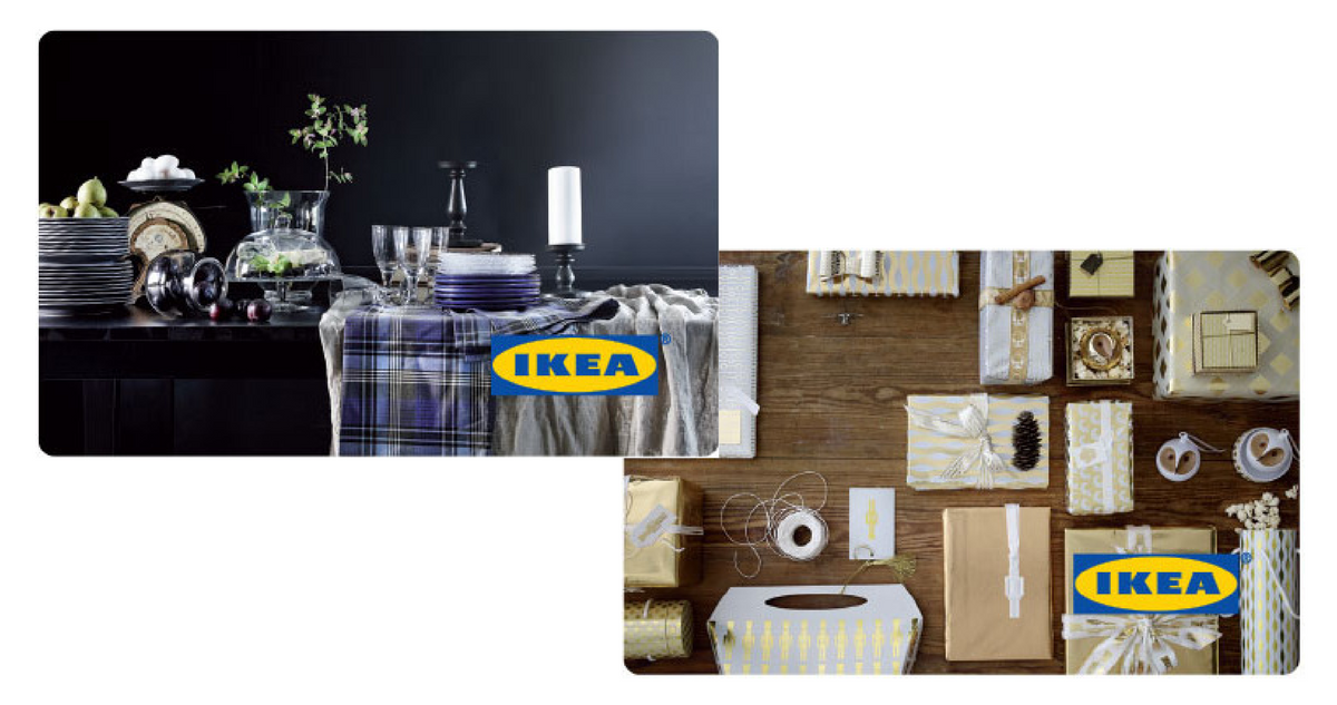 Ikea free 20 ecard for every 100 purchase in gift cards for Coupon mobile ikea
