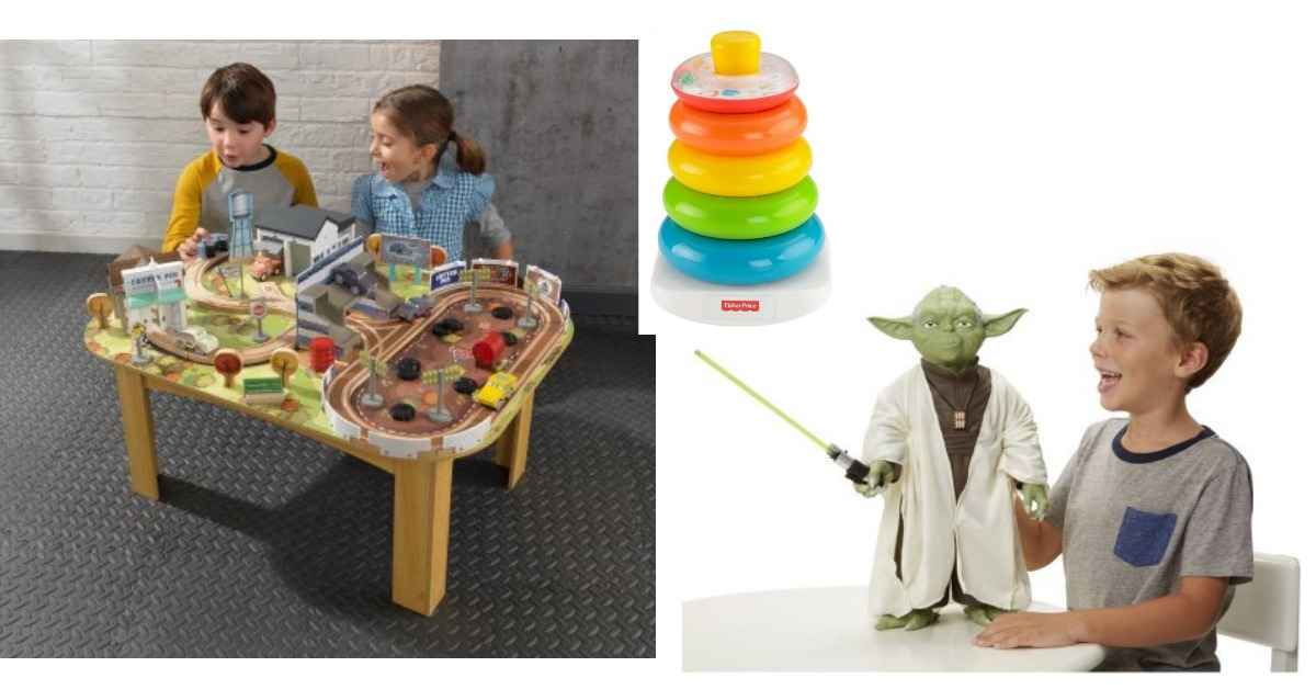 Kidkraft Cars 3 Train Table For 49 98 More Toy Deals
