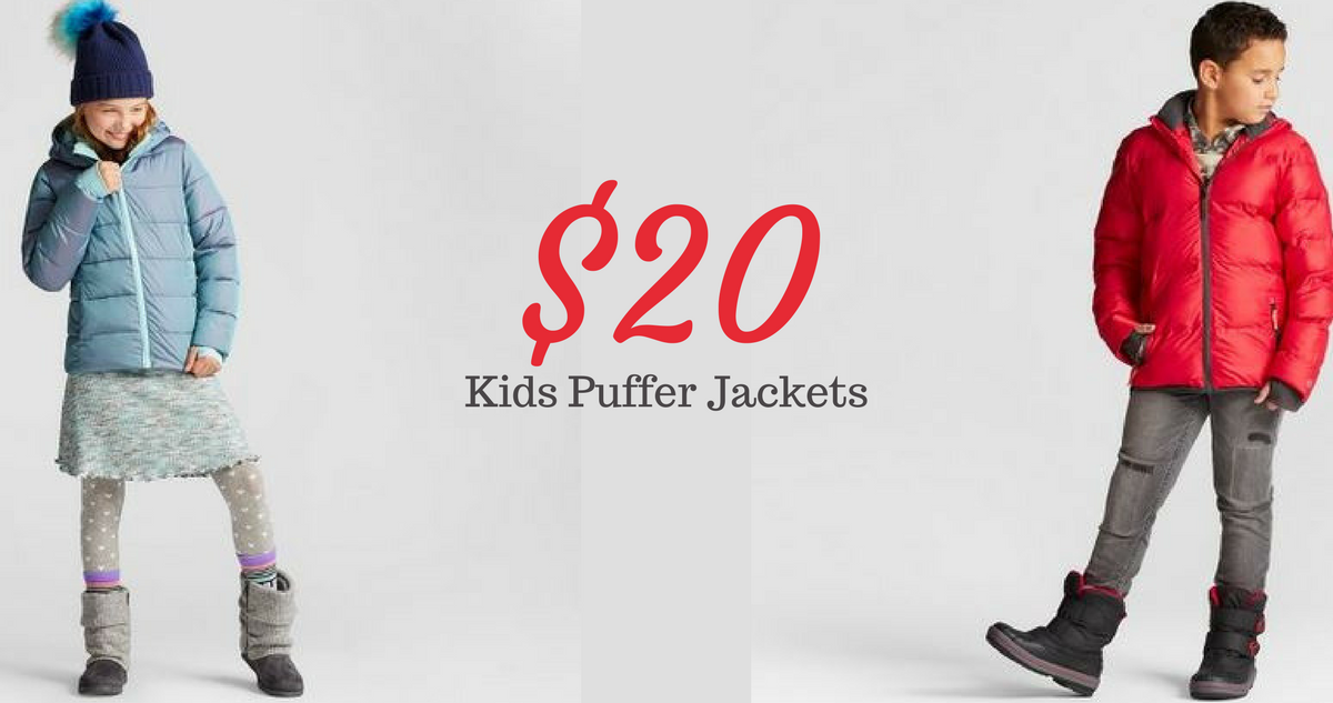 Target | Kids Puffer Jackets for $20 Shipped :: Southern ...