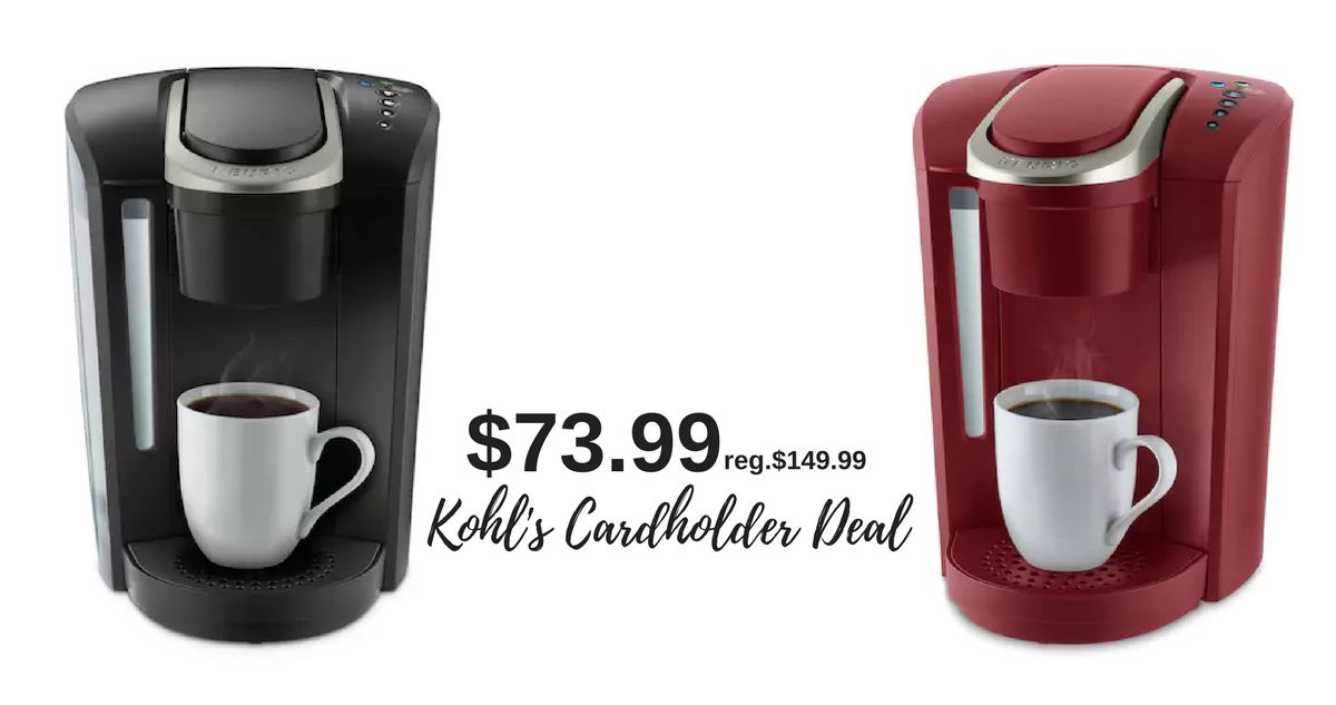 Keurig Coffee Maker At Kroger : Kohl s Deal: Keurig Coffee Maker, USD 73.99 :: Southern Savers