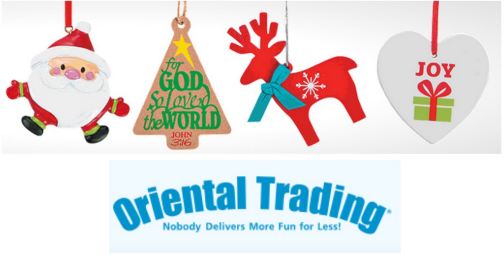 oriental trading is offering 50 off all christmas items great way to save on items for