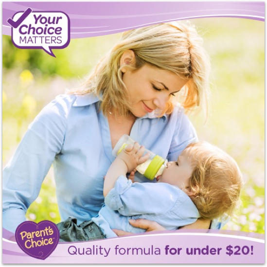 Parents choice formula sweepstakes