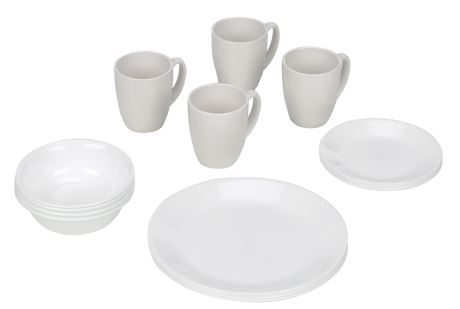 Corelle 16-Piece Winter Frost White Dinnerware Set u2013 $18.94 (reg. $38)  sc 1 st  Southern Savers & Kitchen Deals | Corelle Dinnerware for $18.94 + More :: Southern Savers