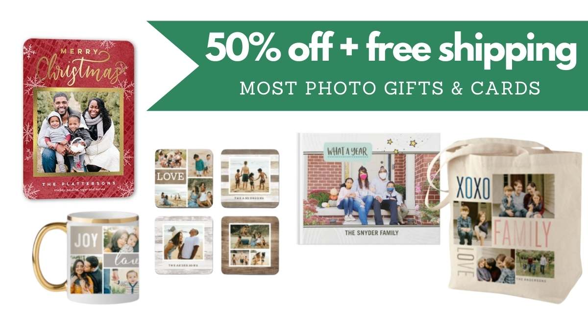Shutterfly Code | 50% Off Sitewide + Free Shipping