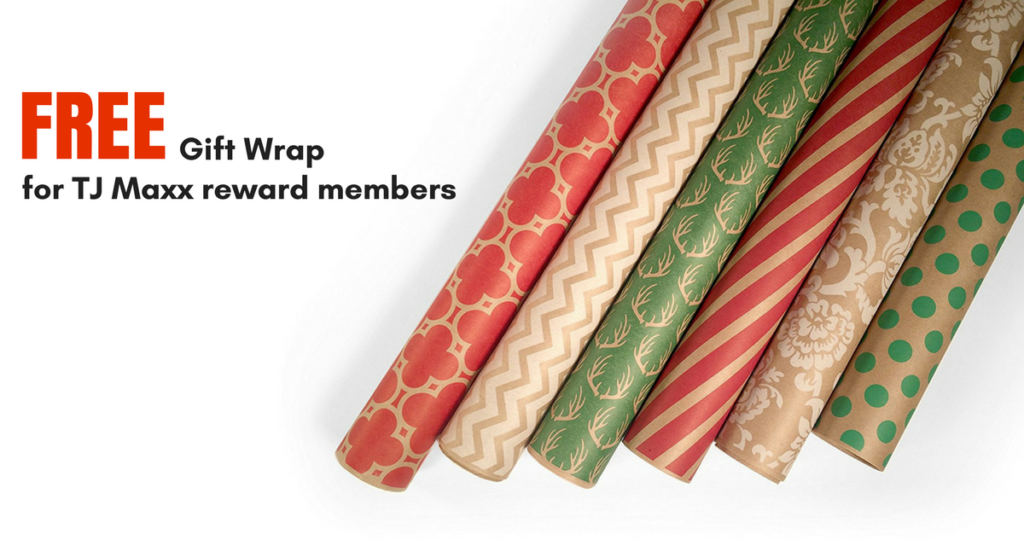 Tj maxx deal free gift wrap for rewards members southern savers tj maxx deal free gift wrap for rewards members negle Gallery