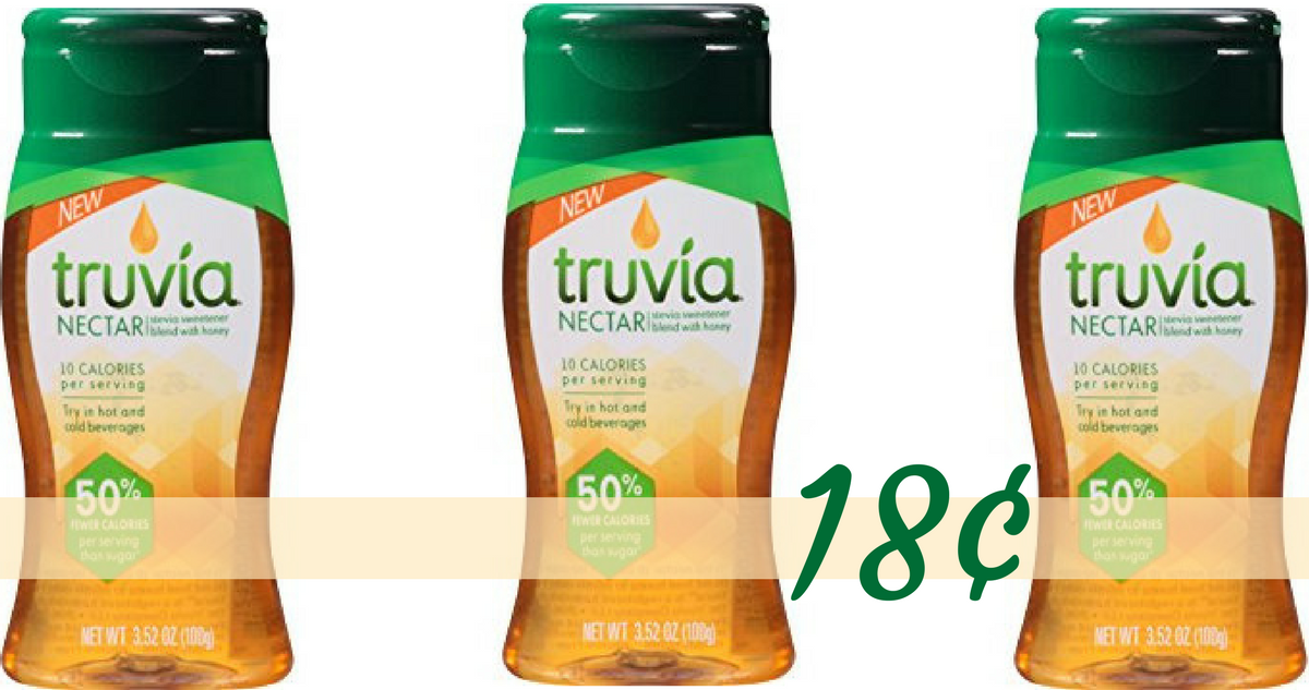 graphic regarding Truvia Coupon Printable known as Truvia Coupon Results in Truvia Nectar 18¢ :: Southern Savers