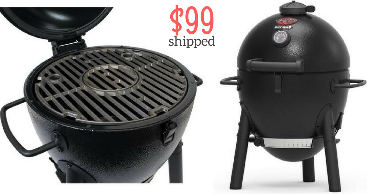 akron jr portable charcoal grill for 99 shipped southern savers. Black Bedroom Furniture Sets. Home Design Ideas