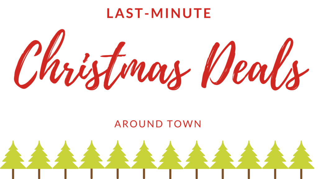 Christmas Deals.Live Online Q A 12 17 Last Minute Christmas Deals Around