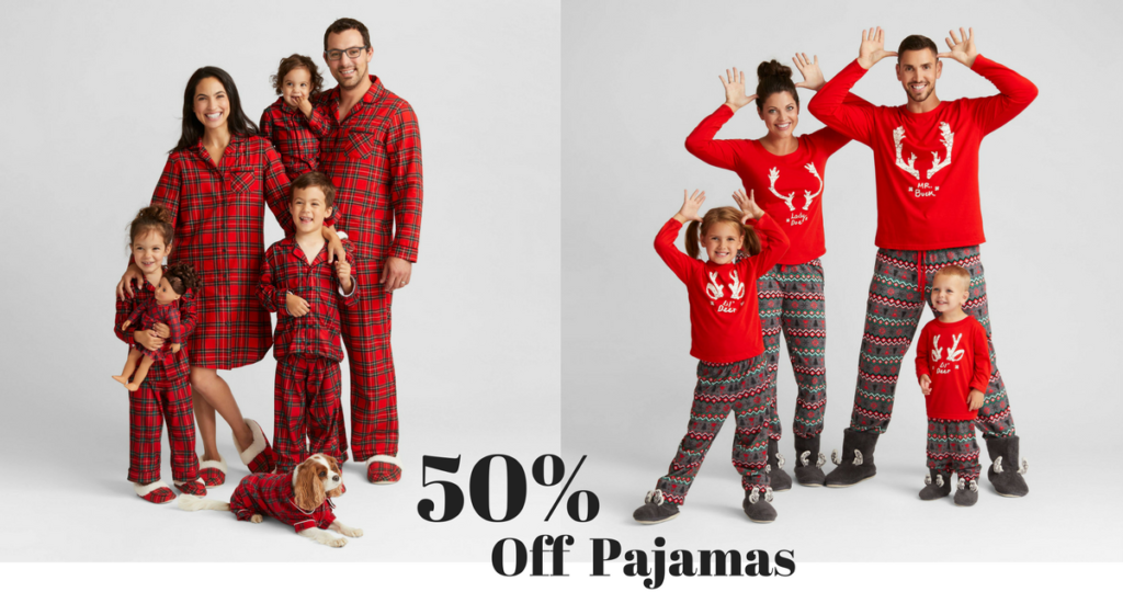 Still need some pajamas for your family for Christmas  Today only 50bf56374