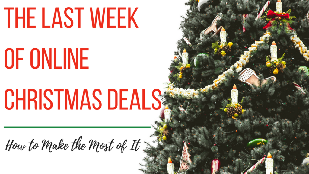 Live Online Q&A Tomorrow: The Last Week of Online Christmas Deals ...