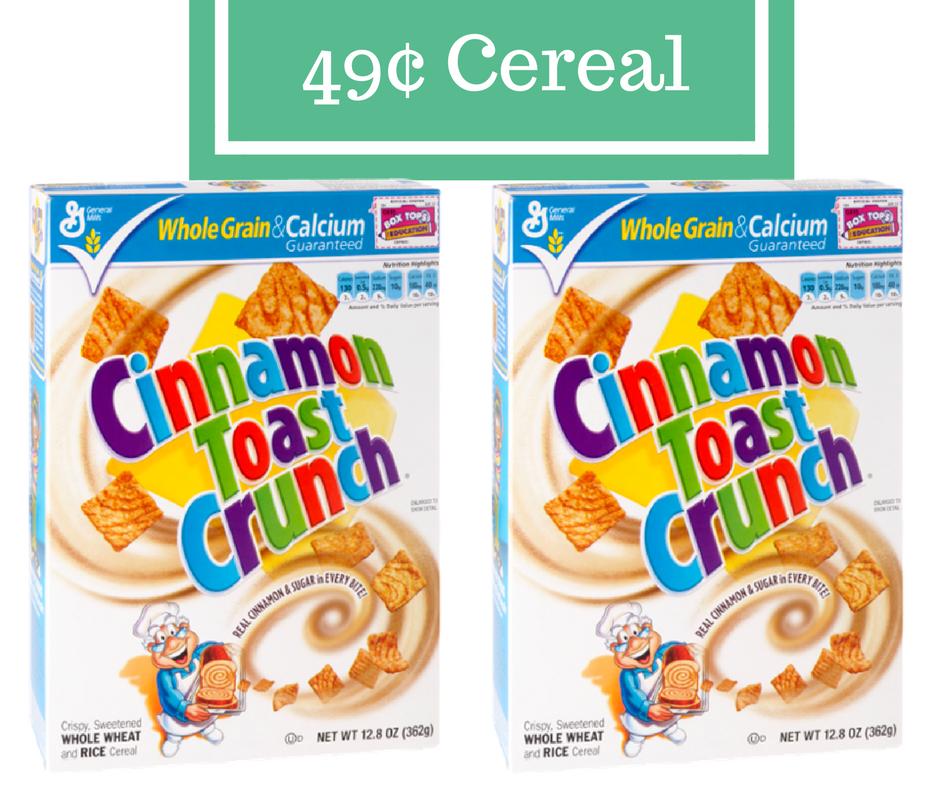 General Mills Cereal, 49¢ Per Box :: Southern Savers