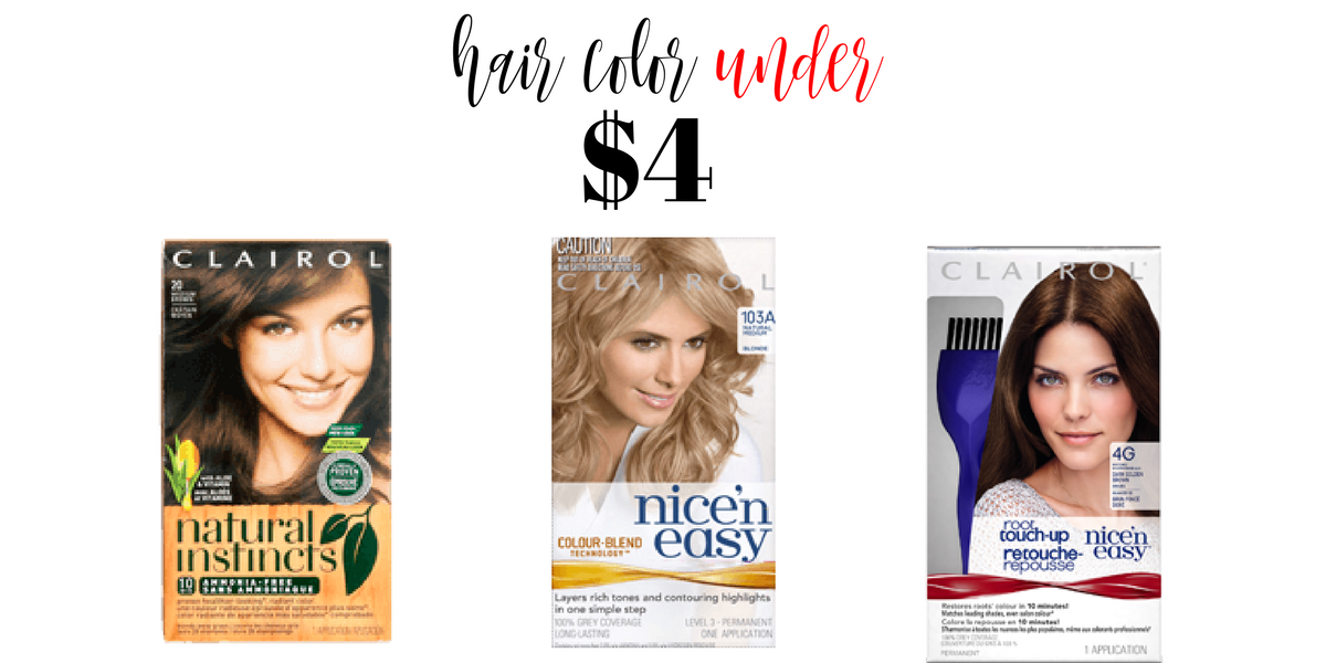 Clairol Coupons Hair Color Under 4 Southern Savers