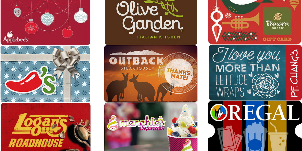 top christmas gift card deals - Christmas Gift Card Deals