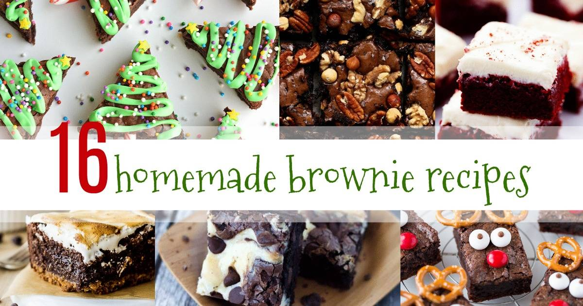 homemade brownie recipes