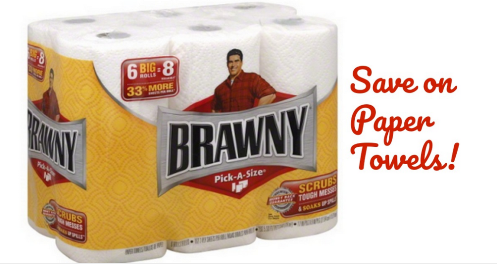 graphic relating to Brawny Printable Coupons identify Brawny Coupon $3 Paper Towels :: Southern Savers