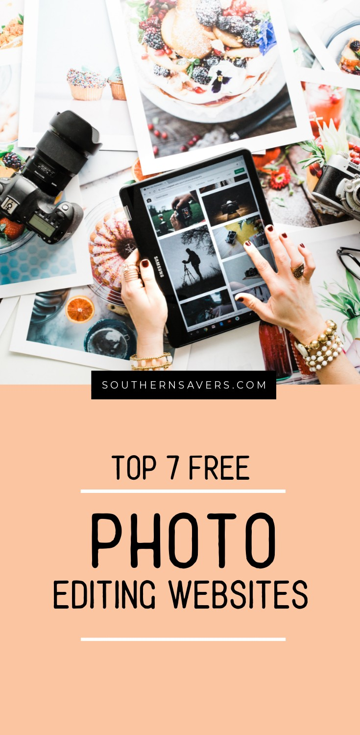 The top 7 free photo editing websites & apps that are out there.  Save money and make beautiful images... (like this one) without spending a dime!