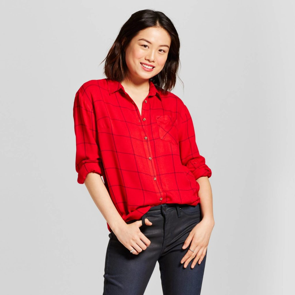 Target extra 20 off clearance apparel and accessories for Women s button down shirts extra long