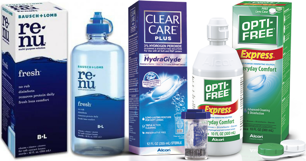 Contact Lens Solution Coupons Save On Opti Free Clear