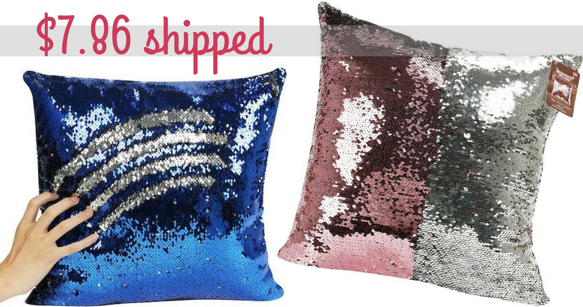 Kohls Purple Throw Pillows : Kohl s Coupon Codes Mermaid Sequin Throw Pillows, $7.86 Shipped :: Southern Savers
