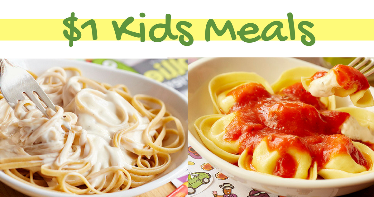 Olive Garden Coupon 1 Kids Entree Southern Savers