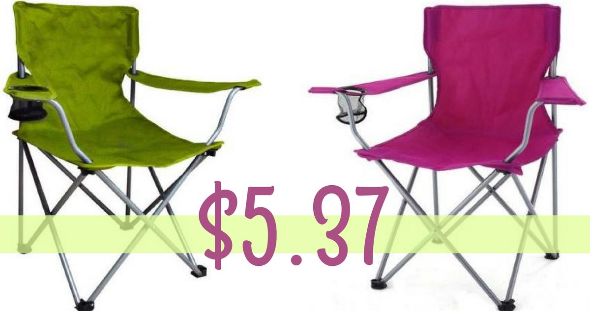 Enjoyable Walmart Deal Ozark Trail Folding Chairs For 5 37 Theyellowbook Wood Chair Design Ideas Theyellowbookinfo