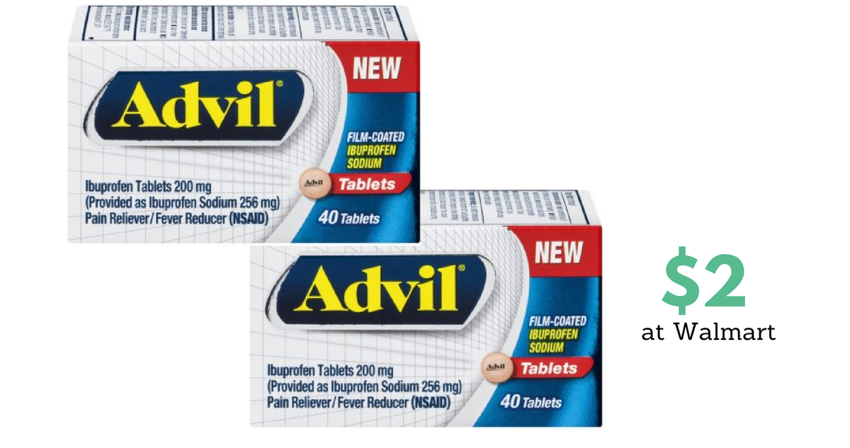 photograph relating to Advil Printable Coupon referred to as Contemporary Advil Coupon codes Supplements For $2 :: Southern Savers