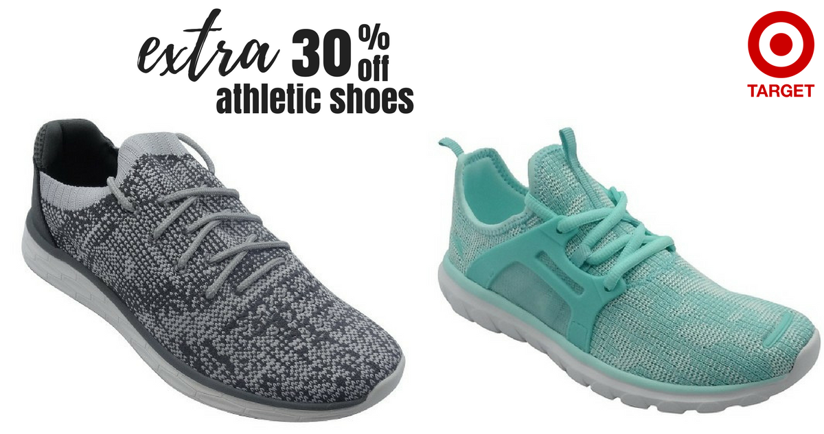 Target  30% off Athletic Shoes    Southern Savers 7c5f27cda
