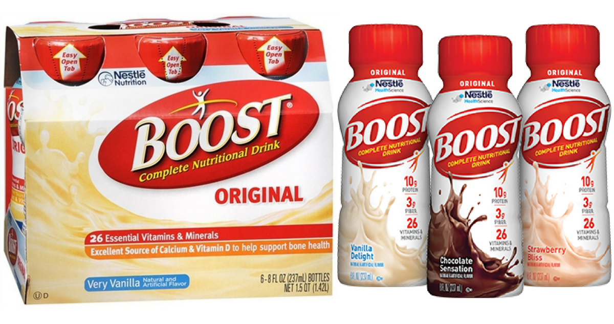 Boost Coupon Makes Nutritional Drinks 2 99 Southern Savers