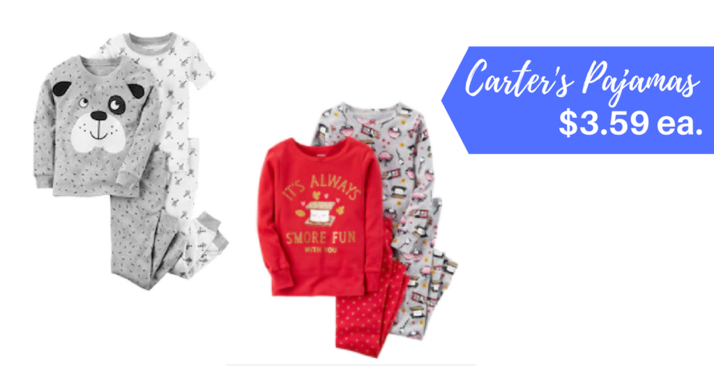 af6567f3c Right now Kohl's Cardholders can score 6 pairs of Carter's Pajama Sets for  just $21.56 shipped – just $3.59 each! – when you combine a Carter's sale  with a ...