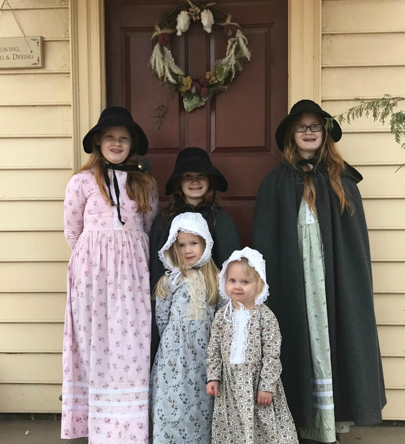 My mom and one of my older girls made dresses.  sc 1 st  Southern Savers & Colonial Williamsburg On a Budget | How We Did 3 Days/4 Nights For ...