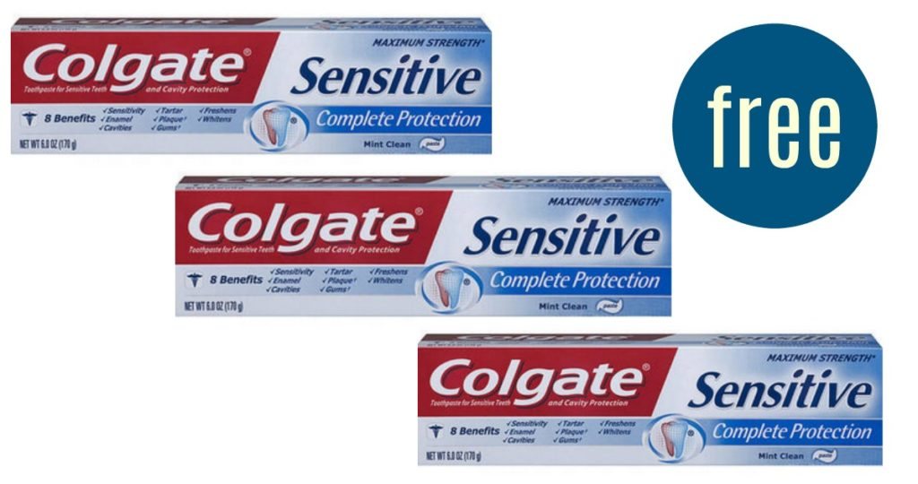 Colgate Coupons Free Sensitive Toothpaste Southern Savers