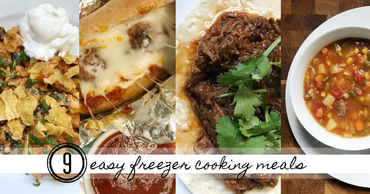 freezer cooking meals