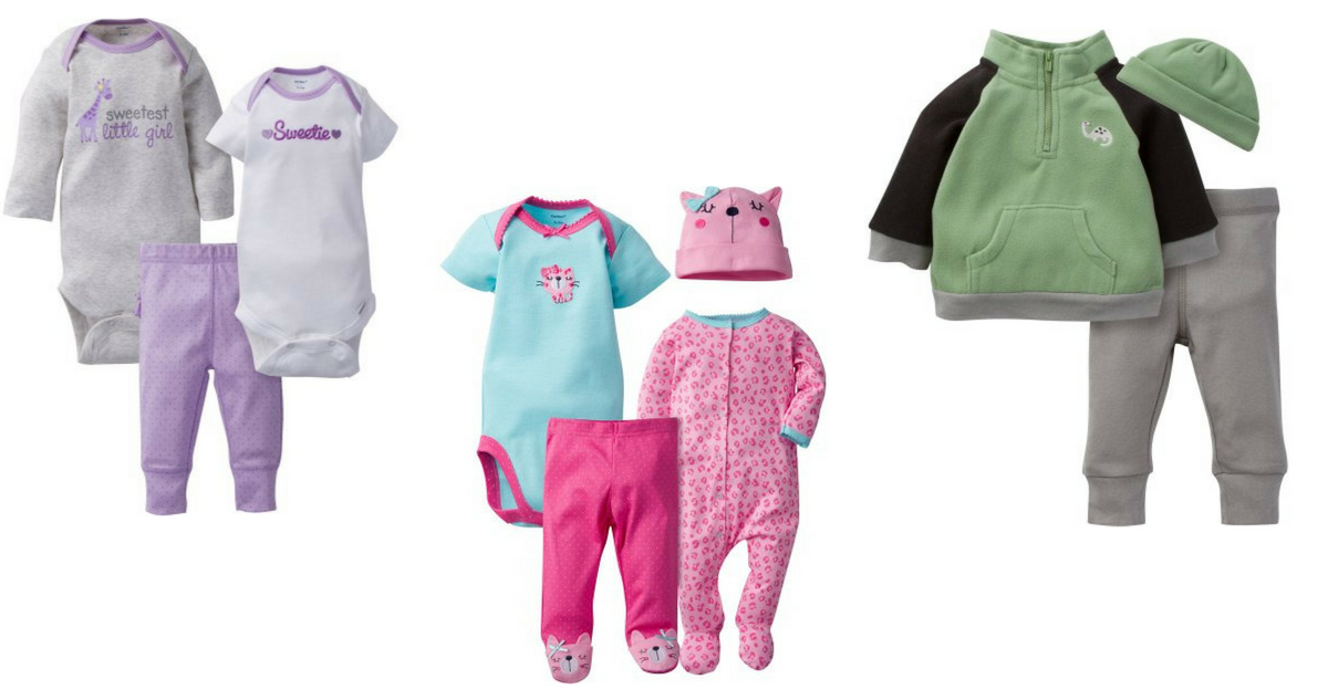 Walmart Save on Gerber Baby and Toddler Clothing Items