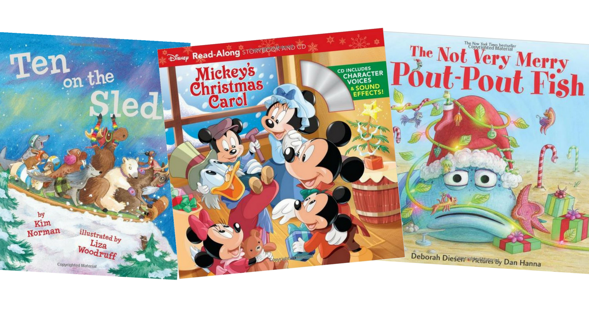 Kids Christmas Books Starting at Just $1.99 :: Southern Savers